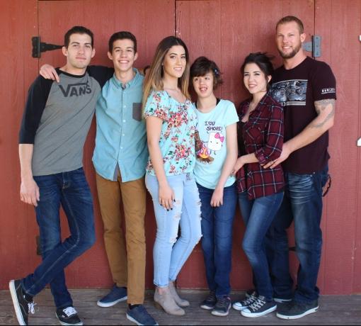 all 5 kiddos